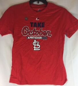 02c5393e St. Louis Cardinals MLB T-Shirt by Majestic Baseball Adult Large Red ...