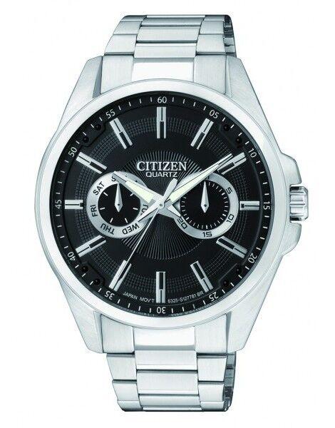 CITIZEN AG8320-55E Mens Quartz Watch Day & Date NEW WR50m RRP $299.00