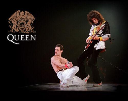"Queen Freddie Mercury Brian May  14 x 11/"" Photo Print"