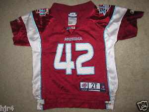 low priced 47f1e 877eb Details about New York Giants #42 Super Bowl Reebok Jersey Toddler 2T