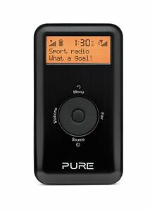 Pure-Move-2500-Pocket-Sized-DAB-FM-Radio-Rechargeable-ChargePak-Black-Silver