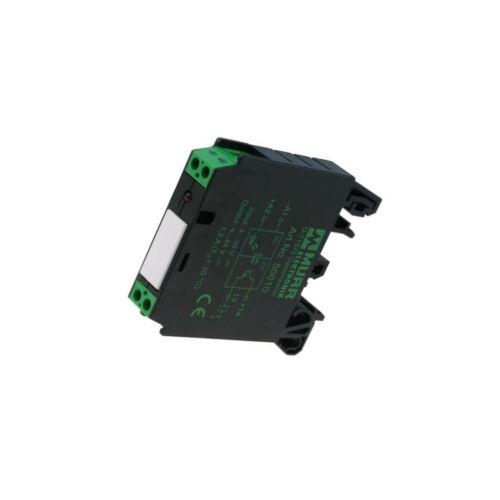 4-30VDC 500mA Transistor Signal LED MURR ELEKT 50010 Relais Interface USteuer