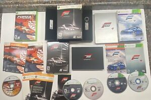 Xbox 360 Forza 2 + 3 & 4 Limited Collector's Edition Lot Very Nice!  Complete!!