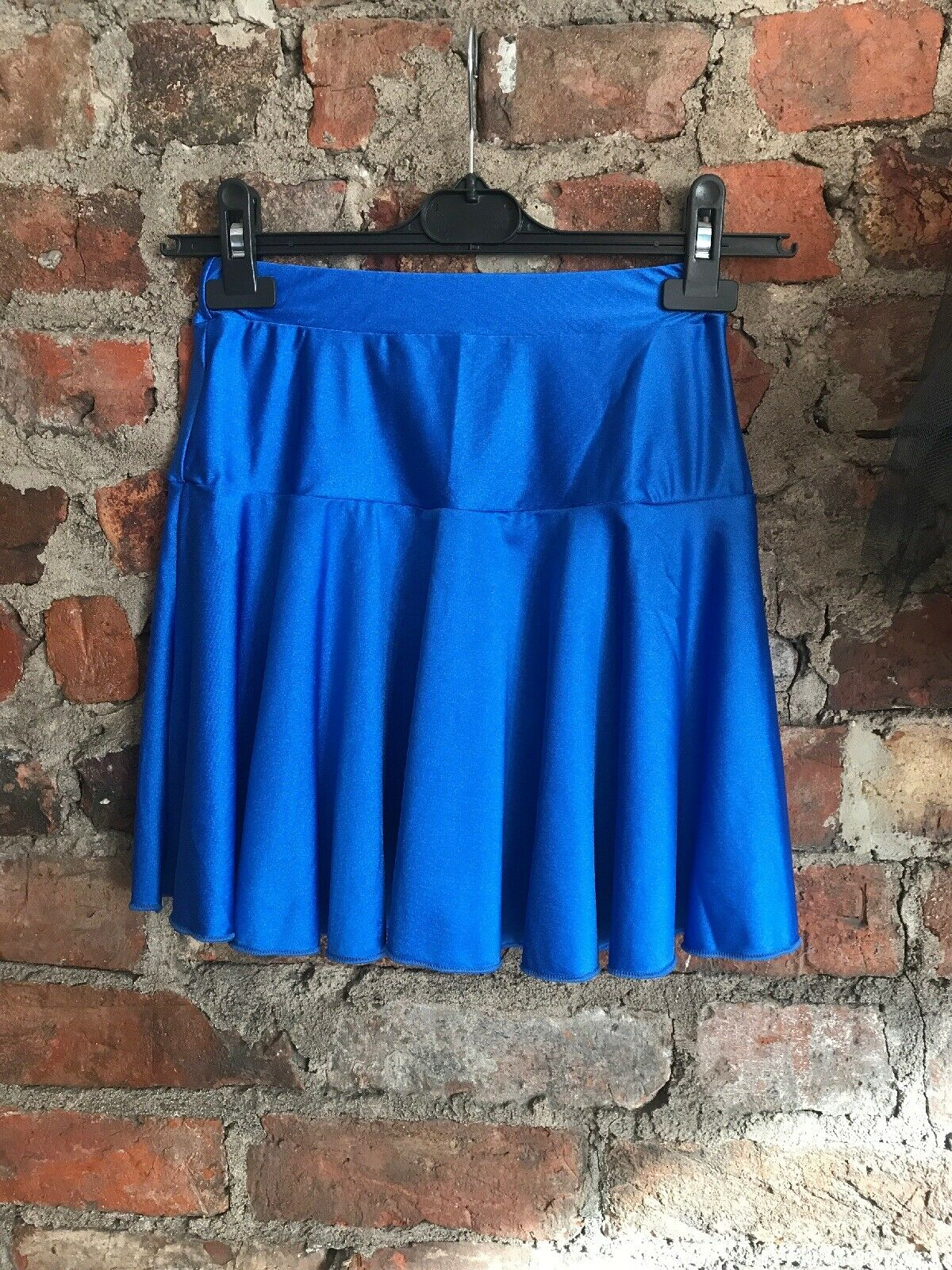 4 Ex Large Adagio Royal blue nylon Lycra Job Lot Dance Circular Skirts