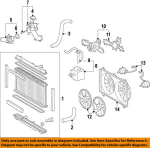 lexus toyota oem 06 15 is250 engine water pump 1610039436 ebay BMW M3 Engine Diagram image is loading lexus toyota oem 06 15 is250 engine water
