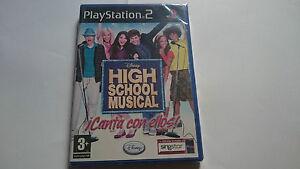 DISNEY-HIGH-SCHOOL-MUSICAL-PLAYSTATION-2-PS2-ESPANA-NUEVO-SEALED-PRECINTADO