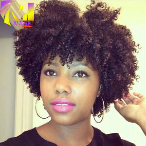 Details about Short Brazilian Kinky Curly