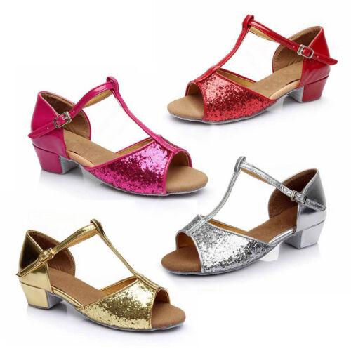 Bambini //ragazze bambini Scarpe da Ballo Latino //Sala da Ballo Scarpe da ballo