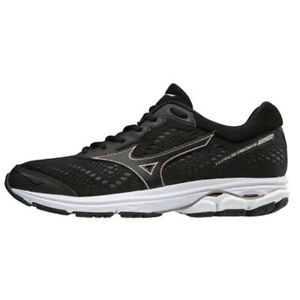 Mizuno-WAVE-RIDER-22-Women-039-s-Running-Shoes-Black-Marathon-Walking-J1GD183109