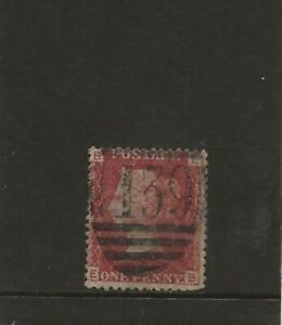 GB-QV-SG43-1d-Rose-Red-Plate-225-E-B-1858-79-FU-139-Bromsgrove