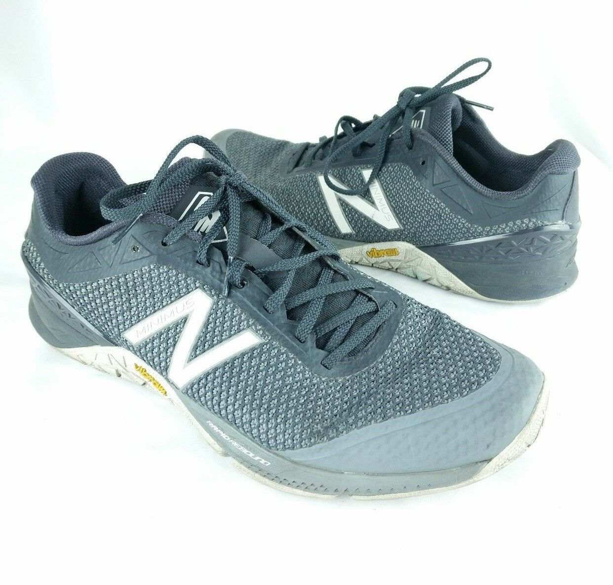 New Balance Mens Minimus 40 Trail Running shoes SZ 11 Vibram Cross Training