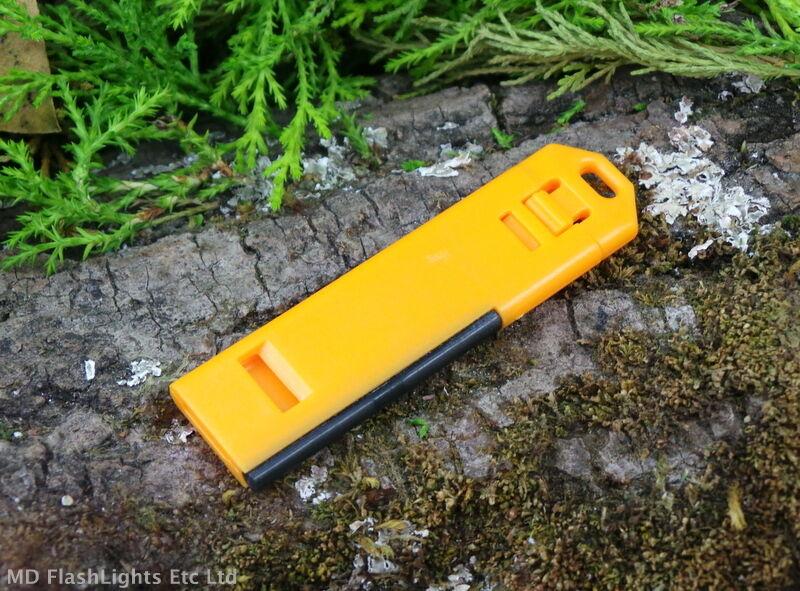 Edc 2 en en 2 1 sifflet fire starter porte-clés ferrocérium rod bushcraft survie 954674