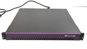 Avoir Un Esprit De Recherche Miranda Quartet 2 2x Xvp-811i Processeur Vidéo / Convertisseur 2x Frs-801i Hd/sd