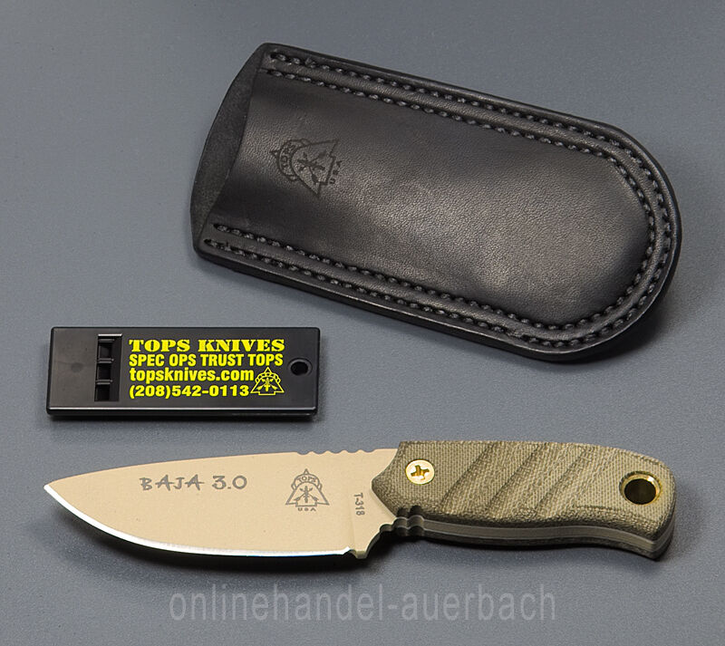 Tops Knives Baja 3.0 Coltello Outdoor Survival