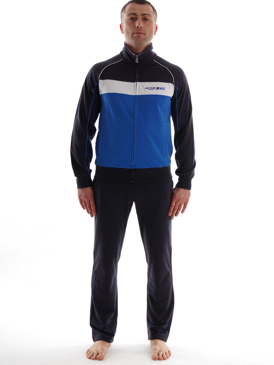 CMP Trainingsanzug Jogginganzug  bluee black Homewear Stehkragen  online sale