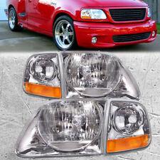 Lightning Headlights Amp Parking Corner Lights Set Fits 97 03 Ford F15099 02 Expe Fits 1997 Ford F 150
