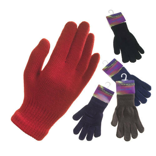 ladies black magic gloves one size