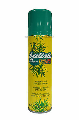 BATISTE DRY SHAMPOO TROPICAL FULL SIZE 150ml REVITALISE