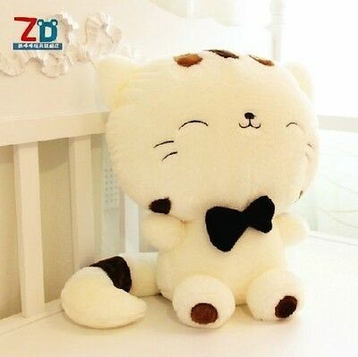 "FD672 Women Girl Children Plush Stuffed Toy Fortune Cat Doll 13""High ~Cute Gift@"