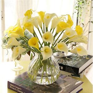 Flores Artificiales Calla Lily Para Bodas Casa Jarrn Regalo Elige