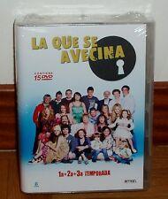 LA QUE SE AVECINA-1º, 2º Y 3º TEMPORADAS COMPLETAS-PACK 15 DVD-PRECINTADO-NUEVO