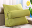 Adjustable Back Wedge Cushion Pillow Sofa Bed Office Chair Rest Neck Support New