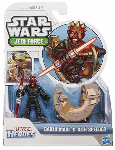 Star Wars 2012 Playskool Jedi Force Mini Figure 2 Pack - Darth Maul & Sith Speed