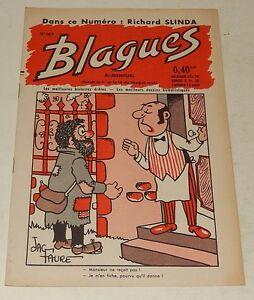 BLAGUES-N-167-avec-Richard-SLINDA-1961-Les-meilleures-Histoires-droles