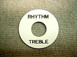 éNergique Catfish Rhythm/plate Treble Shim Pour Interrupteur à Bascule Blanc MatéRiaux De Qualité SupéRieure