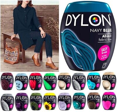 Dylon Wash /& Dye Fabric Powder Reviving Faded Colours 350g