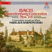 Brandenburgische Konzerte 1-6 von Harnoncourt,Nikolaus, Cmw | CD | Zustand gut