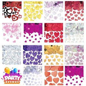 Heart Confetti Table Decorations