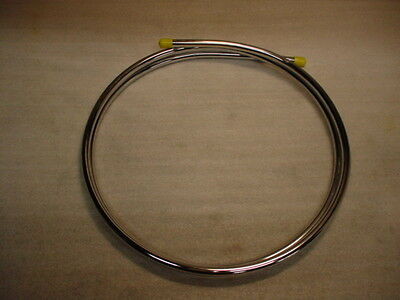 Chrome Plumbing Tube Pipe 10mm x 1500mm *