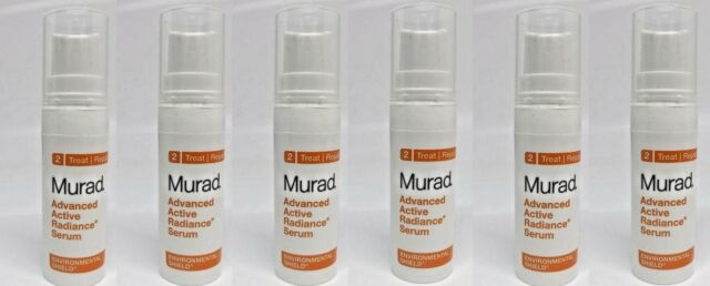 6 pk Murad Advanced Active Radiance Serum Environmental Shield 0.17= 1 oz