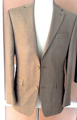 """ Ralph Lauren Chaps""A New Stylish Tan  Sport Coat 38R Poly & Rayon Blend 38R"
