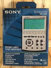 Sony RM-AV3000 Integrated Universal Remote Commander Control LCD Display TESTED