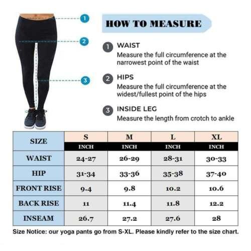 Women High Waist Yoga Pants Anti-Cellulite Ruched Butt Lift Leggings Workout Gym