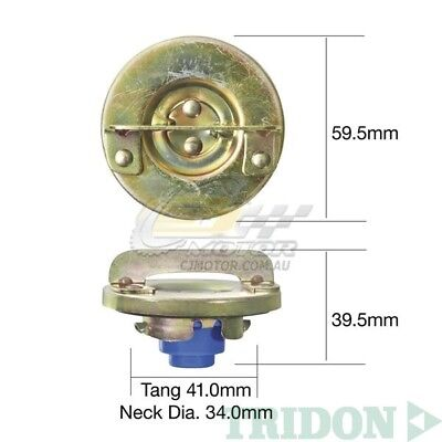 TRIDON FUEL CAP NON LOCKING FOR Toyota Landcruiser FJ40 01//75-01//79  TFNL213
