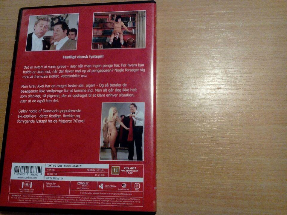 Takt og tone i himmelsengen, DVD, andet