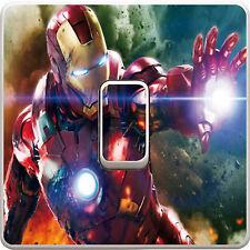 Marvel Avengers Light Switch Vinyl Sticker Decal for Kids Bedroom #126