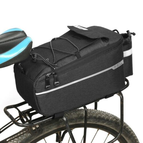 Bicycle Bag Insulated Trunk Cooler Pack Cycling Rear Rack Storage Luggage Pouch
