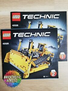 LEGO-INSTRUCTIONS-BOOKLET-ONLY-Bulldozer-Technics-42028