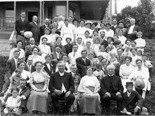Yearly Meeting Missionaries /& Families Korea Photo 1913-4 Seoul
