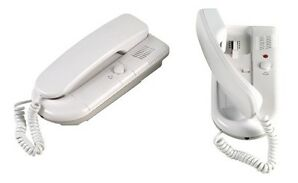 2 Way/Station Telephone Style Intercom System fr Office Factory Battery or AC/DC