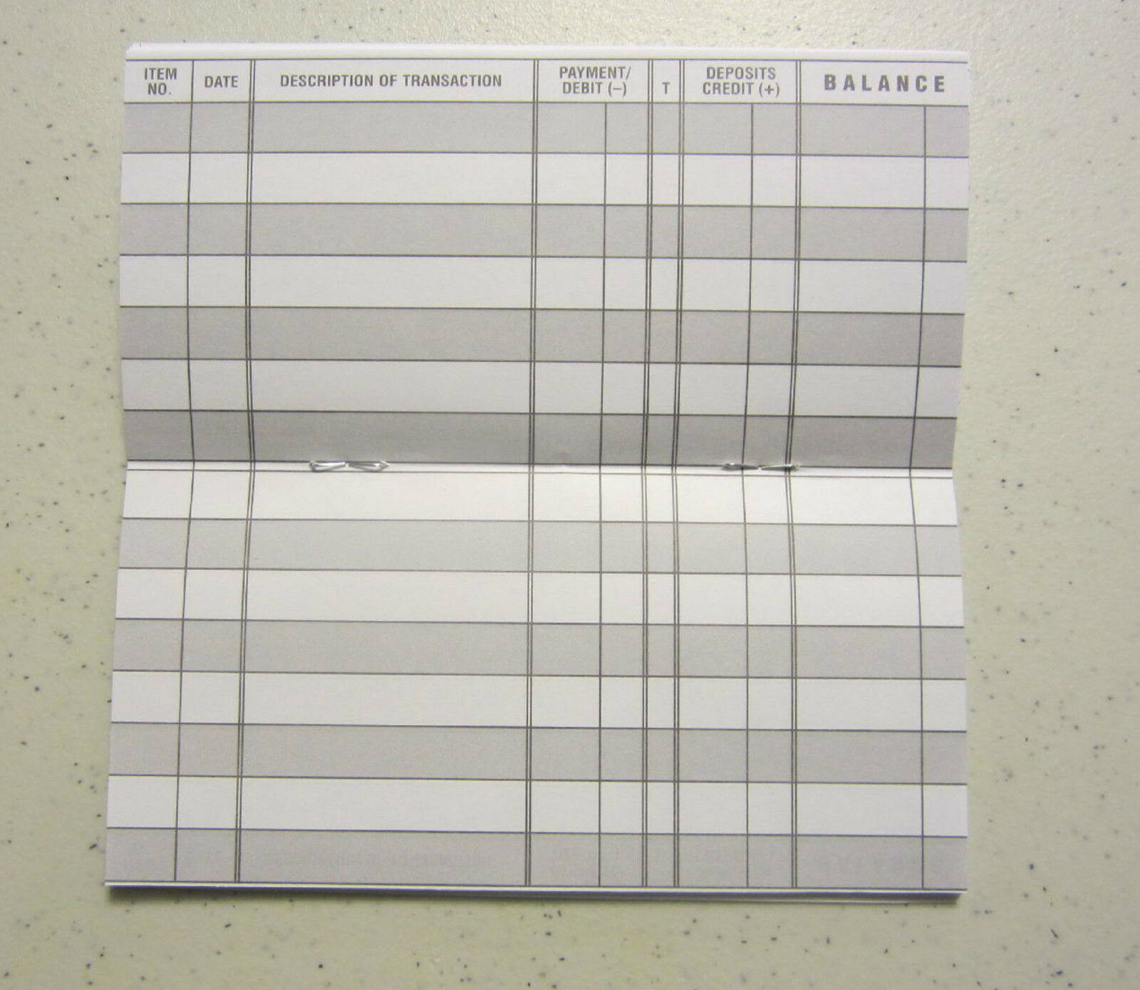 25 easy to read checkbook transaction register large print check