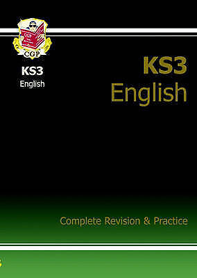 KS3 English: Complete Revision and Practice by CGP Books (Paperback, 2004)