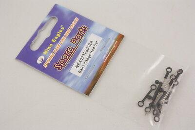 2pcs rotule porte-cravate tige tige Link Rod pour RC Hobby modèle voiture BB