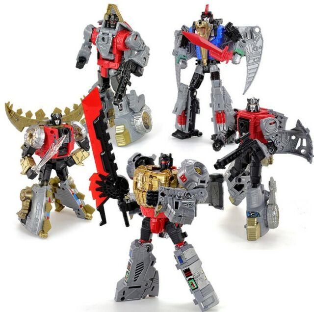 Generations Power of the Primes Dinobot Grimlock Slag Swoop Snarl Sludge Toy New