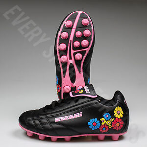 0e3387906192 NEW Vizari Blossom FG Youth and Junior Soccer Cleats- Pink Blue