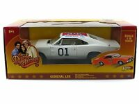 1:18 Dukes Of Hazzard General Lee 01 1969 Dodge Charger White Lightning Car